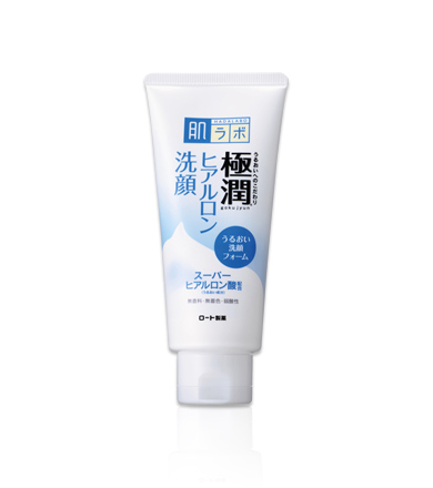 肌ラボ 極潤 ヒアルロン洗顔フォーム 100g 化粧水を忘れるくらいもちもち肌!ヒアルロン洗顔フォームはクリームタイプの洗顔料。弾力感のある泡が、肌をやさしく洗いあげます。 【60個で送料込】ロート製薬 肌研 ( ハダラボ ) 極潤ヒアルロン洗顔フォーム 100G×60点セット ( 4987241145607 )