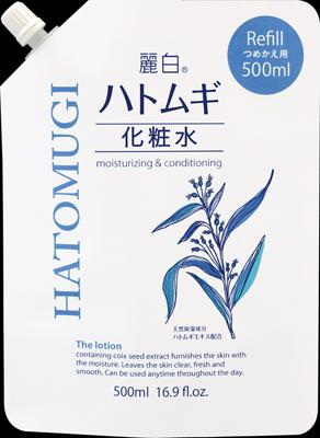 【送料無料】麗白 ハトムギ化粧水 詰替 500ml×24個セット ( 4513574025899 )