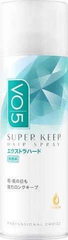 【送料無料】サンスター VO5 ヘアスプレイスーパーキープ エクストラハード 無香料 330g ( スタイリングヘアースプレー ) ×24点セット まとめ買い特価!ケース販売 ( 4901616309869 )