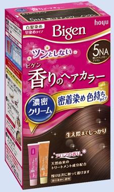 【送料無料・まとめ買い×027】ホーユー ビゲン 香りのヘアカラー クリーム 5NA 深いナチュラリーブラウン  ×027点セット(4987205051456)