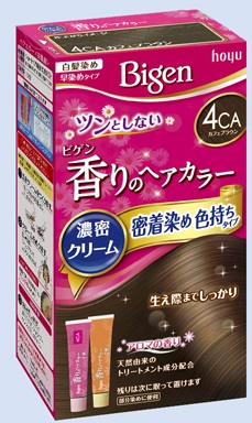 【送料無料・まとめ買い×027】ホーユー ビゲン 香りのヘアカラー クリーム 4CA カフェブラウン  ×027点セット(4987205051463)
