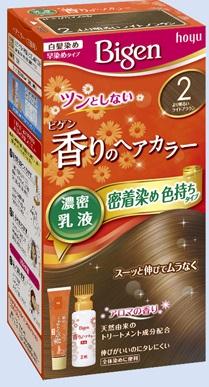【送料無料・まとめ買い×027】ホーユー ビゲン 香りのヘアカラー 乳液 2 より明るいライトブラウン  ×027点セット(4987205052361)