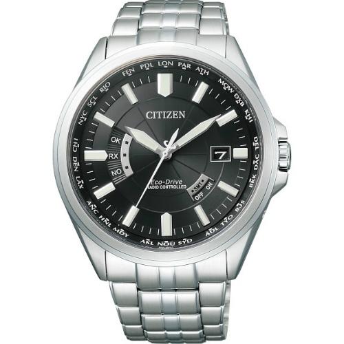 【送料無料】【直送・代引不可・同梱不可】シチズン メンズ電波腕時計 ブラック CB0011-69E