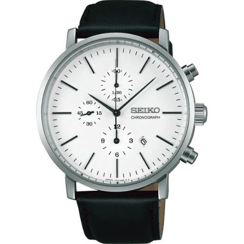 【送料無料】【直送・代引不可・同梱不可】セイコー メンズ腕時計 クロノグラフ  SZER041