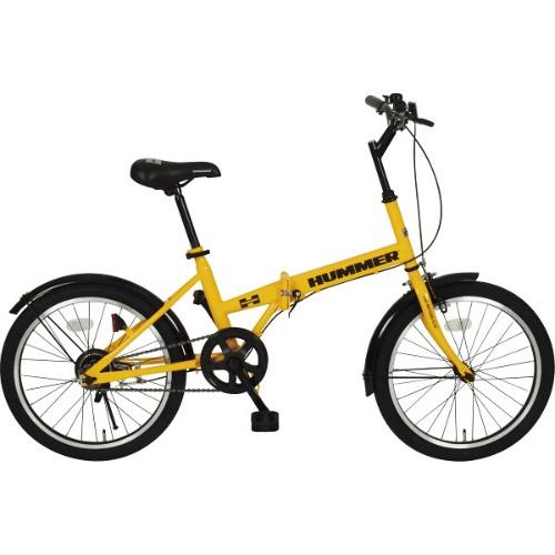 【送料無料】【直送・代引不可・同梱不可】ハマー 20型折りたたみ自転車RA  MG-HM20RA