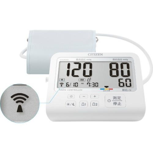 【送料無料】【直送・代引不可・同梱不可】シチズン 上腕式血圧計  CHUR901