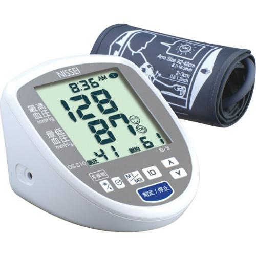 【送料無料】【直送・代引不可・同梱不可】日本精密測器 上腕式デジタル血圧計  DS-S10