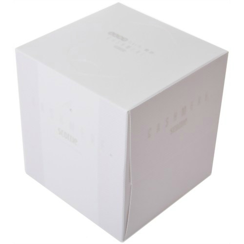 スタイリッシュなデザインのティッシュペーパーです。蛍光染料は使用していません 【送料込・まとめ買い×5】日本製紙クレシア スコッティ カシミヤ キューブ 160枚 ( 80組 ) ×5点セット ( 4901750447007 )
