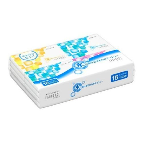 品質改良 パッケージ一新 4902011715781 エリエール 水に流せる 新商品!新型 ポケットティシュー 希少 10組×16コ入 オーデュス