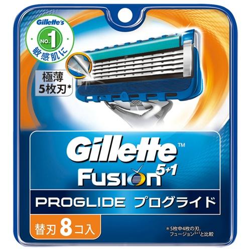 フェイスラインに密着。ジレット最高の剃り味。 【まとめ買い×010】ジレット プログライドマニュアル替刃8B ×010点セット(4902430698801)