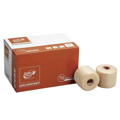 【まとめ買い×5】日進医療器 ZERO アンダーラップテープ 70mm×27m 12巻入