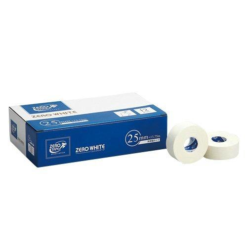 【送料無料・まとめ買い×10】日進医療器 ZERO 非伸縮タイプ ホワイトテープ 非伸縮タイプ 25mm×13.75m 12巻入 25mm×13.75m 12巻入, 新和町:54effd2c --- m2cweb.com