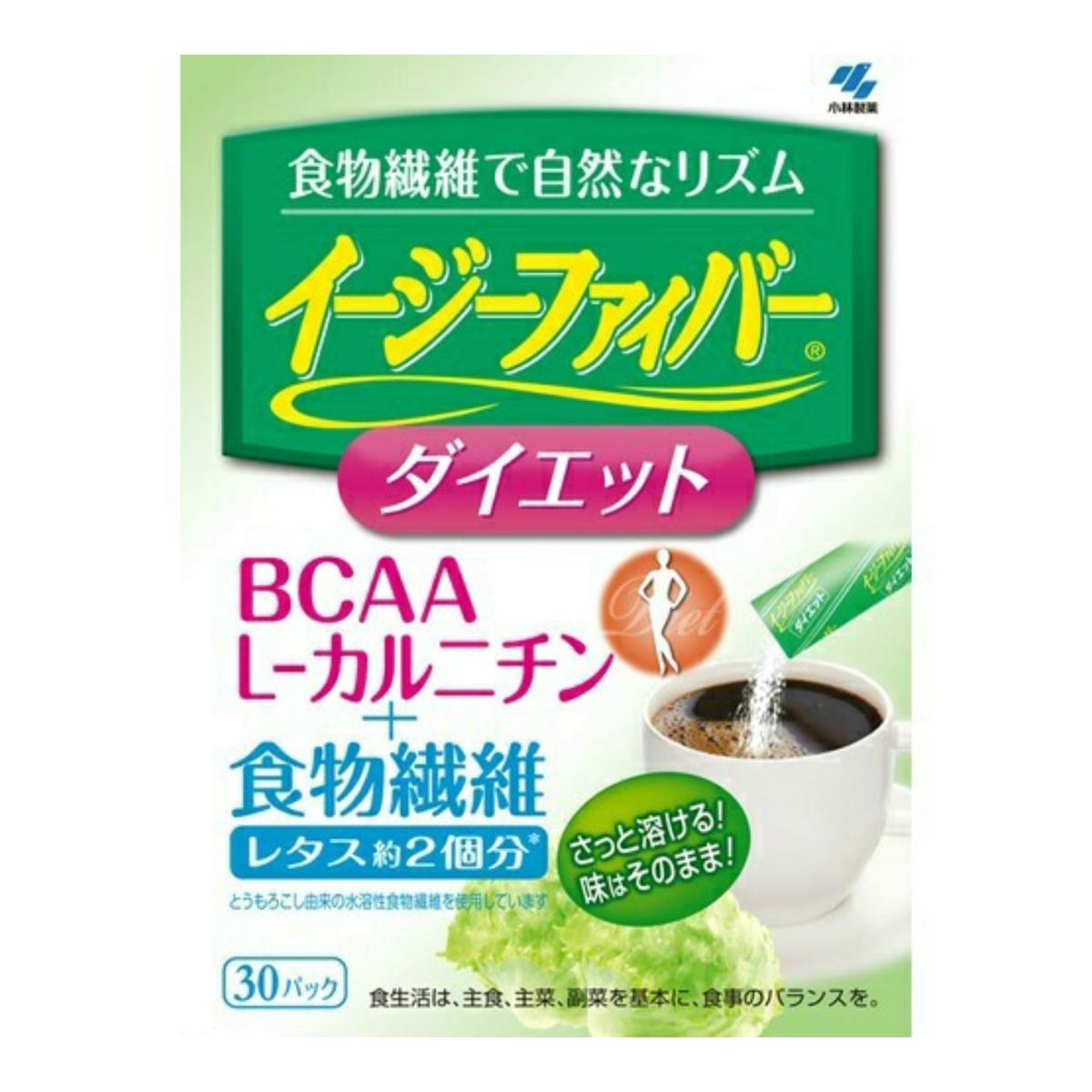 【まとめ買い×5】小林製薬 イージーファイバー ダイエット 30包