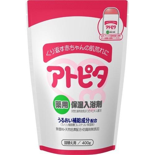 4987133013823 期間限定特価品 丹平製薬 アトピタ 詰替え用 ランキングTOP10 薬用保湿入浴剤 400g