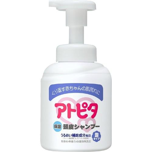 【送料無料・まとめ買い×10】丹平製薬 アトピタ 保湿頭皮シャンプー泡タイプ 350ml