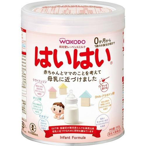 【送料無料・まとめ買い×10】和光堂 レーベンスミルク はいはい 300g