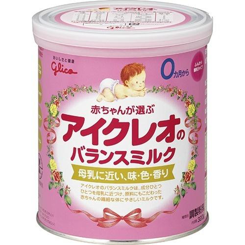 【送料無料・まとめ買い×10】アイクレオ バランスミルク 320g