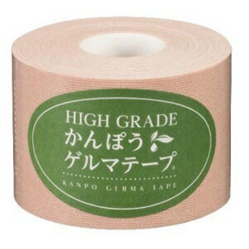 【送料無料・まとめ買い×10】日本薬興 HIGH GRADE かんぽうゲルマテープ 幅5cm×長さ5m