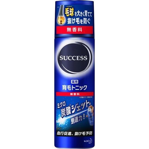 【送料無料・まとめ買い×10】花王 サクセス 薬用育毛トニック 無香料 180g