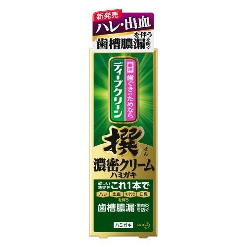 【送料無料・まとめ買い×10】花王 ディープクリーン 撰 濃密クリーム ハミガキ 100g