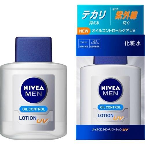 【送料無料・まとめ買い×10】花王 ニベアメン オイルコントロールローション UV 100ml