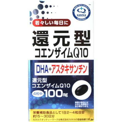 【送料無料・まとめ買い×10】ユニマットリケン Q10+DHA+アスタキサンチン 60粒入