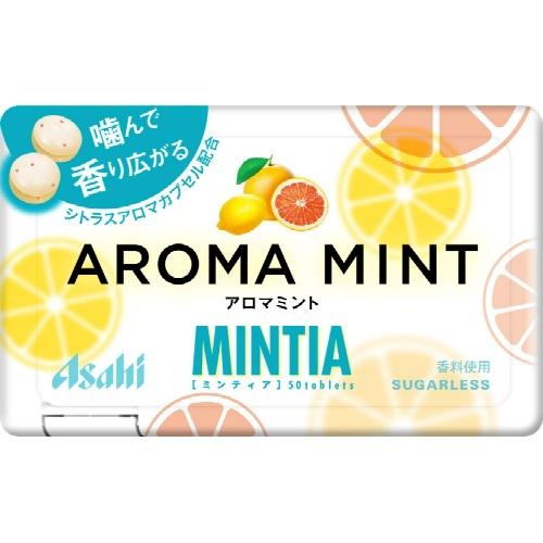 【送料無料アサヒ ミンティア アロマミント 50粒×200個セット