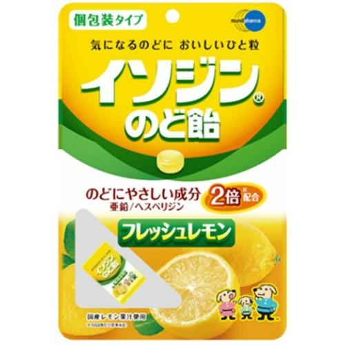 のど飴 4987906010417 送料込 まとめ買い×8個セット イソジン 54g 2020 新作 フレッシュレモン味 激安セール