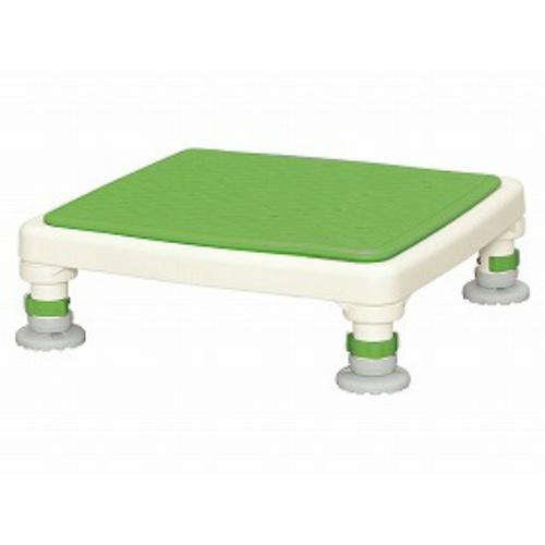 アロン化成 アルミ製浴槽台ジャストソフトグリーン 15-25