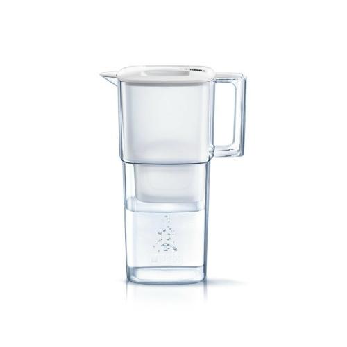 【送料無料・まとめ買い×5】BRITA ブリタ 浄水 ポット 1.1L リクエリ ポット型 浄水器 マクストラプラス カートリッジ 1個付き×5点セット(4006387084233)