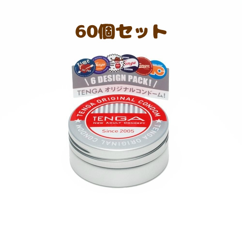 TENGA CONDOM テンガ コンドーム 6個入×60個セット