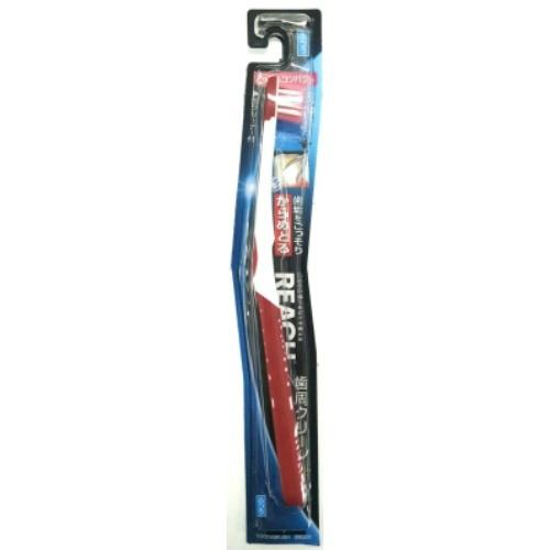 【送料無料・まとめ買い×120】リーチ 歯周クリーン とってもコンパクト ふつう 歯ブラシ×120点セット(4560279550430)