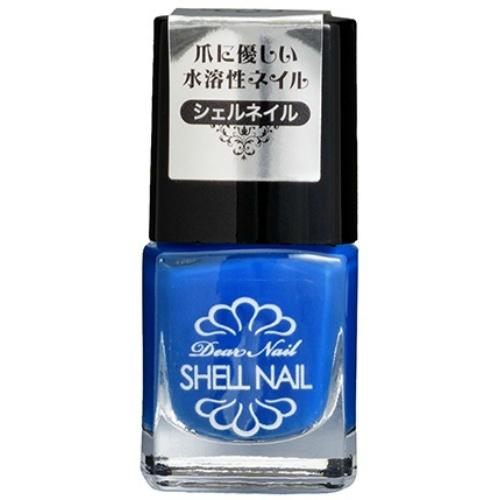 【送料無料・まとめ買い×072】SHELL NAIL シェルネイル SN-1 爪に優しい水溶性ネイル 5ml ×072点セット(4582400839023)