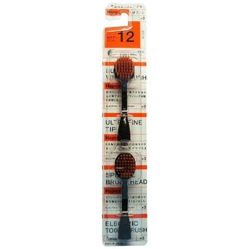 幅広ヘッドと3度の傾きで今までにない磨き心地 ハピカ 替ブラシ 大ブラシ (4961691104650)