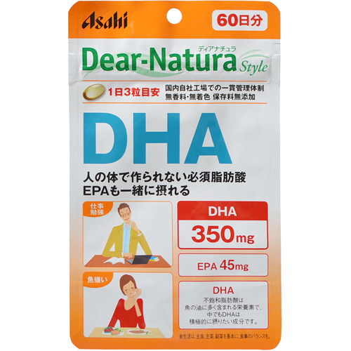 【送料無料・まとめ買い×30】アサヒ ディアナチュラ スタイル DHA 60日 180粒入り×30点セット(計5400粒) 栄養補助食品(4946842637256)