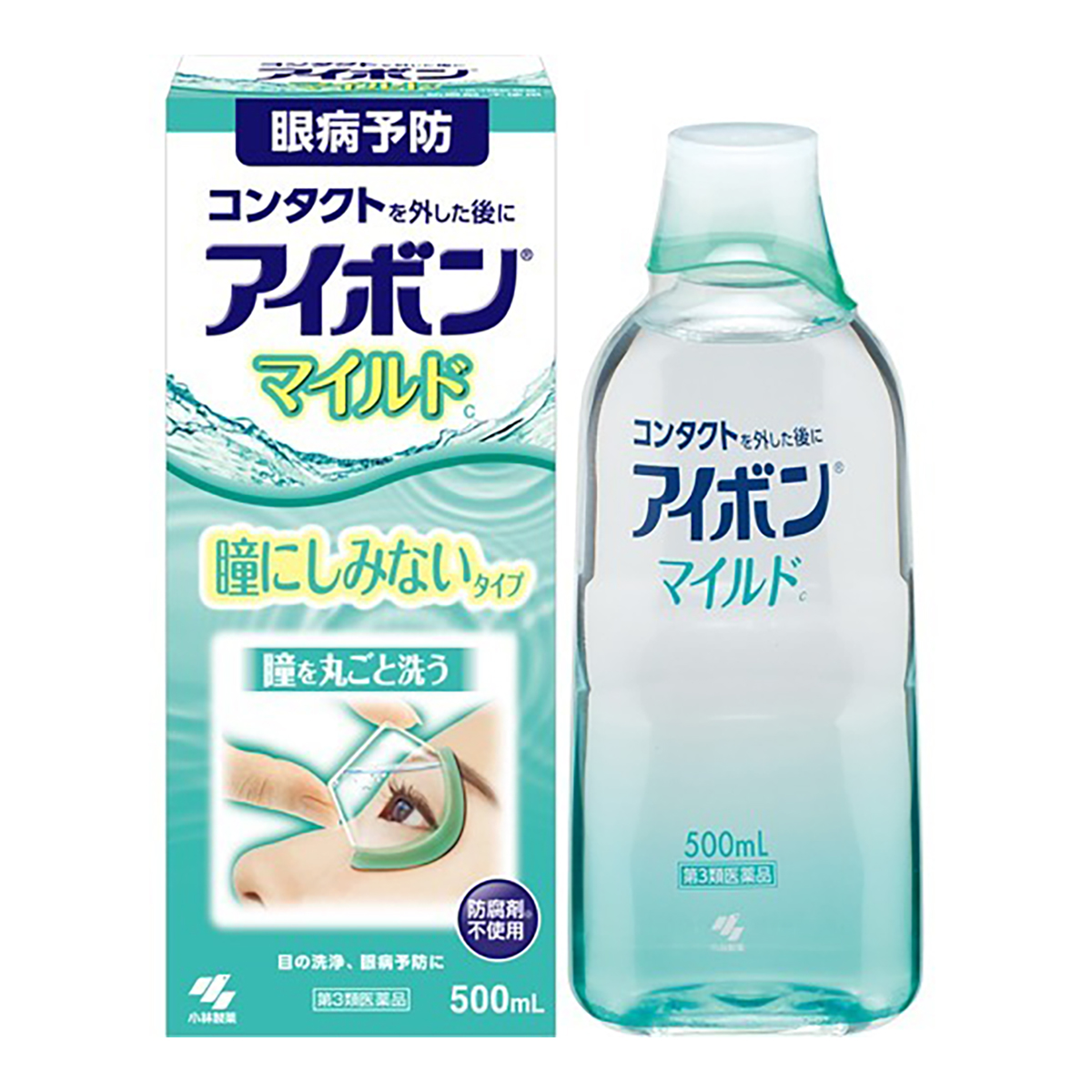 目の洗浄 眼病予防に 4987072071274 第3類医薬品 500ml 日本最大級の品揃え 輸入 マイルド アイボン