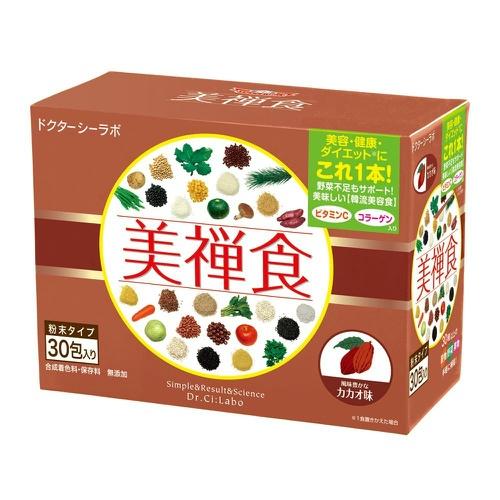 【送料込・まとめ買い×5】ドクターシーラボ 美禅食 カカオ味 462g(15.4g×30包)