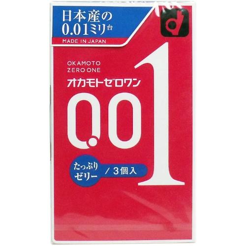 オカモト ゼロワン たっぷりゼリー 3個入×144個セット