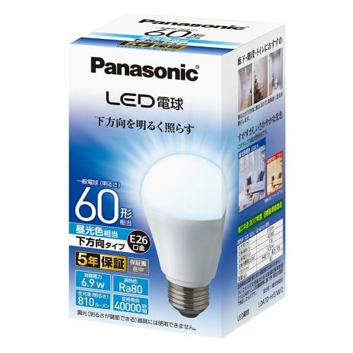 パナソニック 調光器非対応LED電球 (一般電球形・全光束810lm/昼光色相当・口金E26) LDA7D-H/E/W/2×10個セット