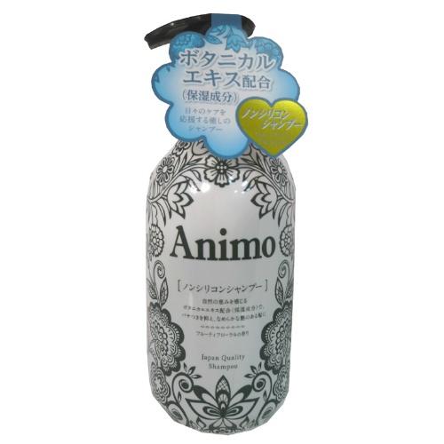 【送料無料・まとめ買い×020】ANIMO アニモ ノンシリコンシヤンプー 本体 500ml×020点セット(4571113807139)
