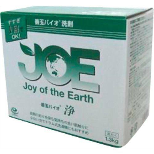 【送料無料・まとめ買い×12】善玉バイオ洗剤 エコ洗剤 JOE 浄 1.3kg×12点セット(衣類用粉末洗剤)(4580241600093)