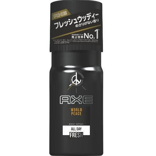【送料無料】AXE ( アックス ) フレグランスボディスプレー ワールドピース 60g さりげなく香り続けるフレグランスボディスプレー おだやかなフレッシュウッディーの香り×36点セット まとめ買い特価!ケース販売 ( 4902111734071 )