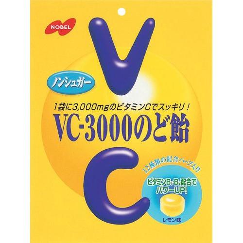 ノーベル製菓 VC-3000 のど飴 90g×48個セット
