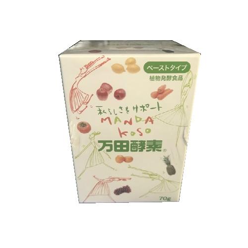 【送料無料・まとめ買い×3】万田酵素 ペーストタイプ 瓶 70g