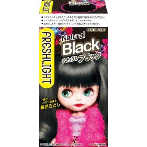 フレッシュライト ミルキー髪色もどし ナチュラルブラック 1個×36個セット