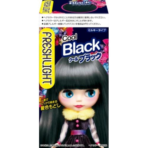 【送料無料・まとめ買い×036】フレッシュライト ミルキー髪色もどし クールブラック×036点セット(4987234322688)