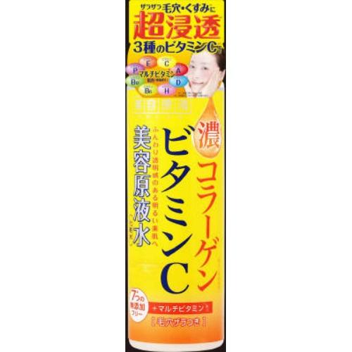 【送料無料・まとめ買い×048】美容原液 超潤化粧水VC 185ml×048点セット(4936201102655)