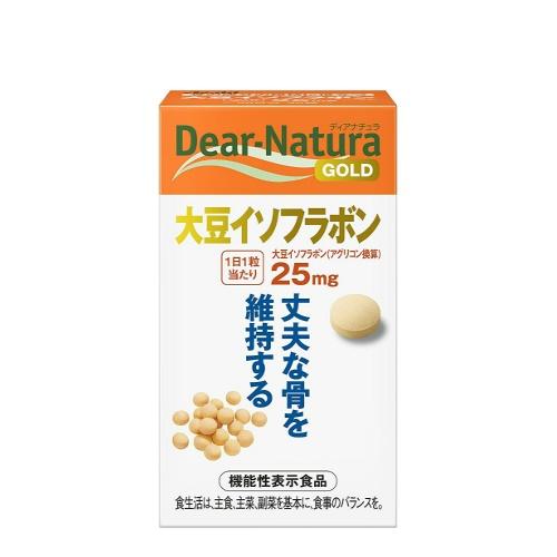 【送料無料・まとめ買い×10】アサヒ ディアナチュラ ゴールド 大豆イソフランボン 30粒