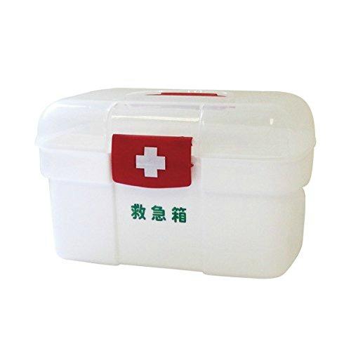 【送料無料・まとめ買い×10】日進医療器 リーダー ポリ救急箱 Sサイズ