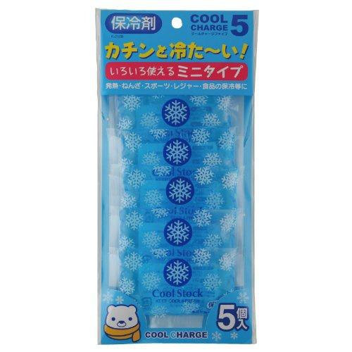 紀陽除虫菊 クールチャージ ファイブ 保冷材 いろいろ使えるミニタイプ 5個入×80個セット